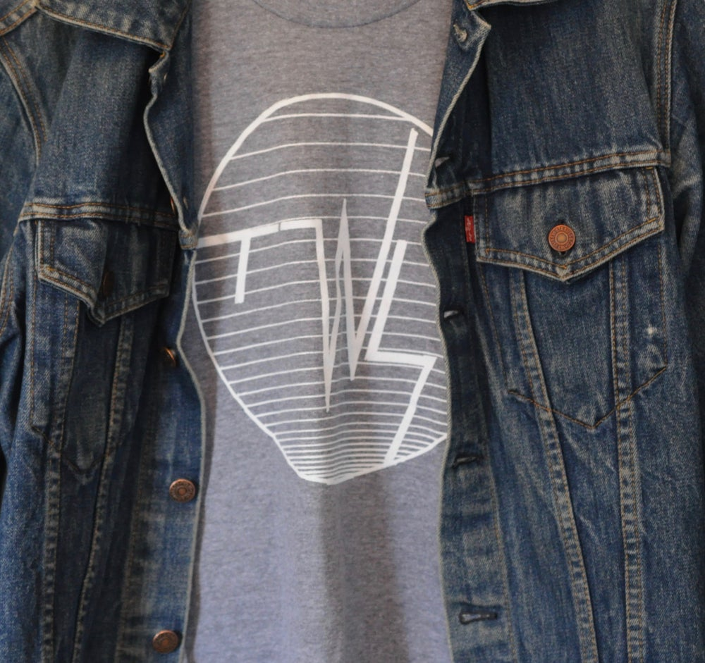 Image of 'TWS' Heather Grey T-Shirt