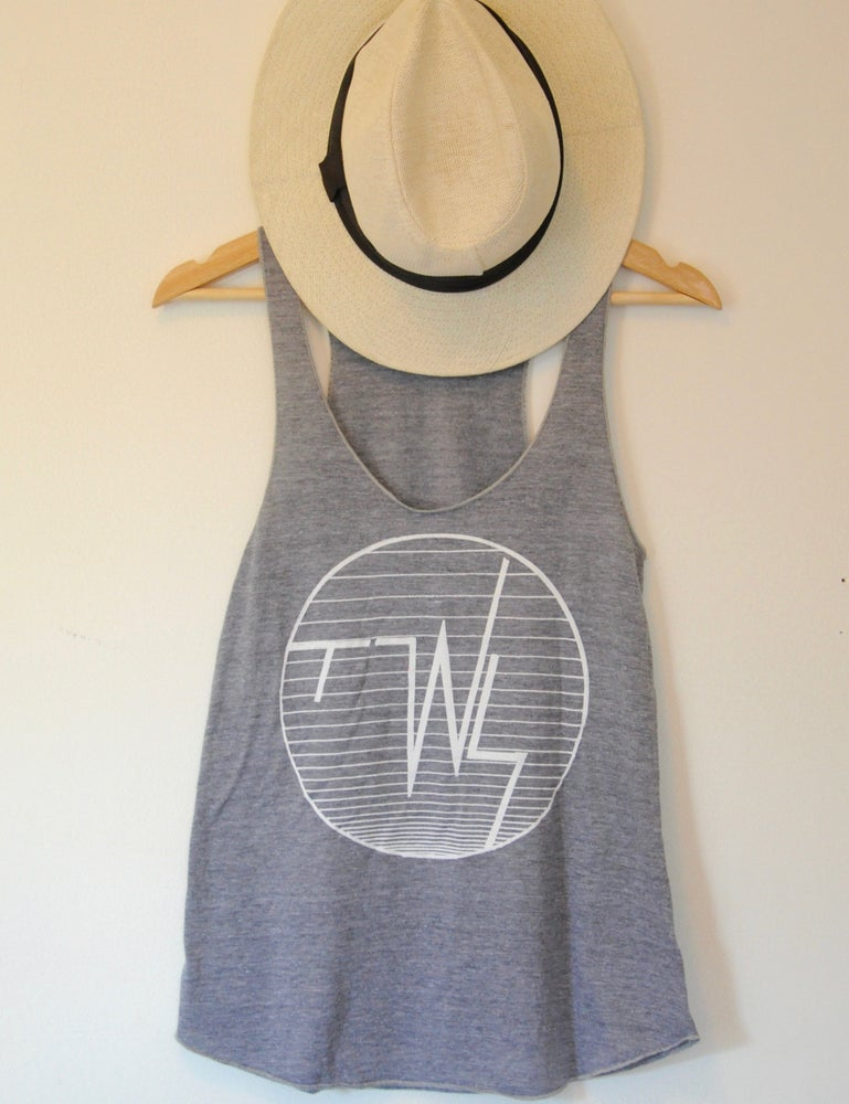 Image of 'TWS' Heather Grey Tank