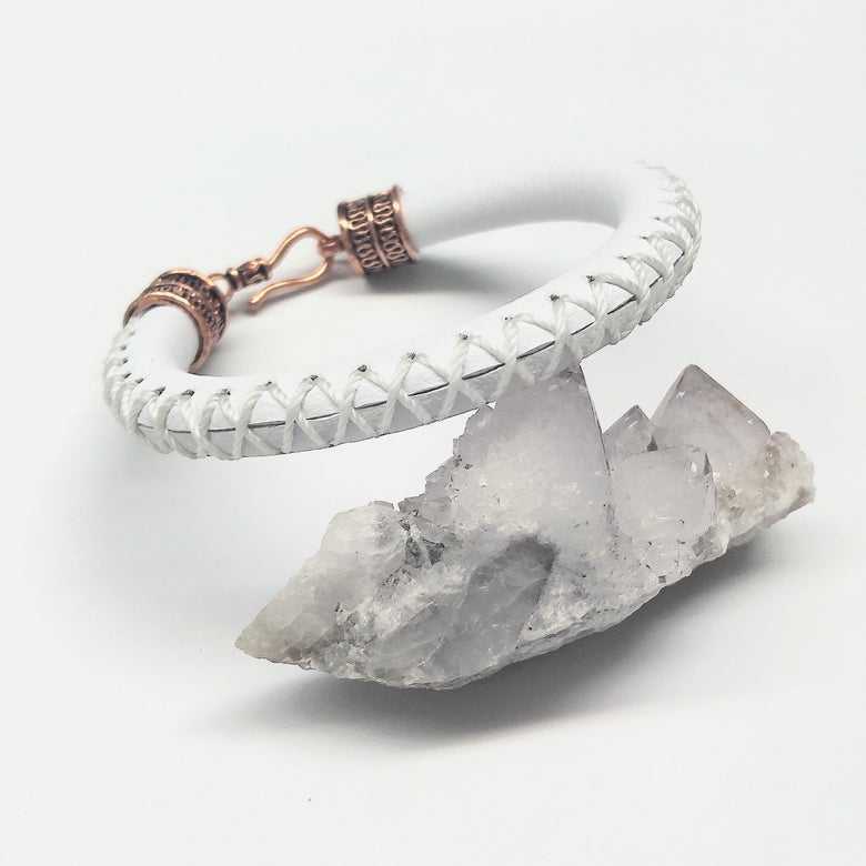 Image of Seraf • Leather Bracelet / Bangle