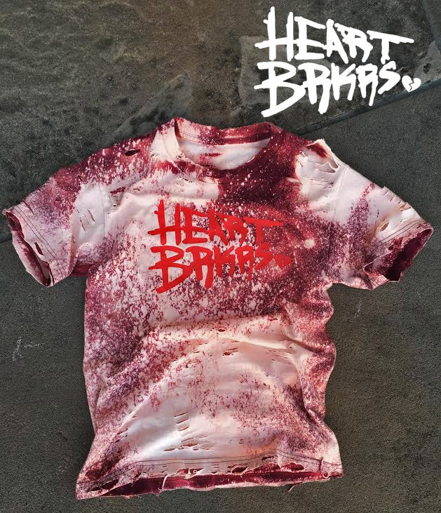 Image of HBK Vintage Distressed T Shirt