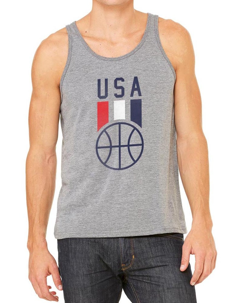 Image of USA Hoops Tank Top