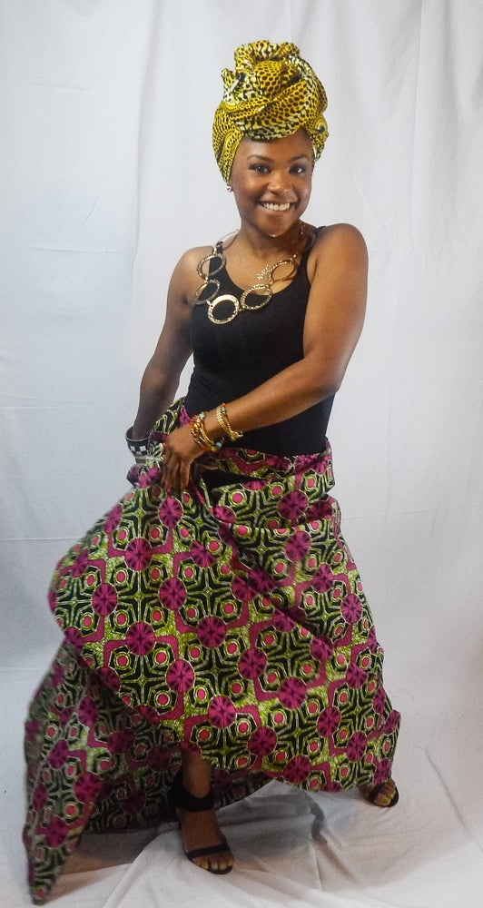 Image of Wrap Skirt