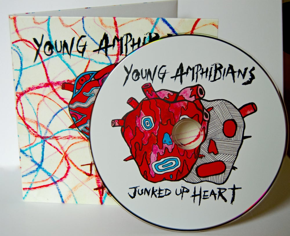 Image of Young Amphibians - Junked Up Heart   CD