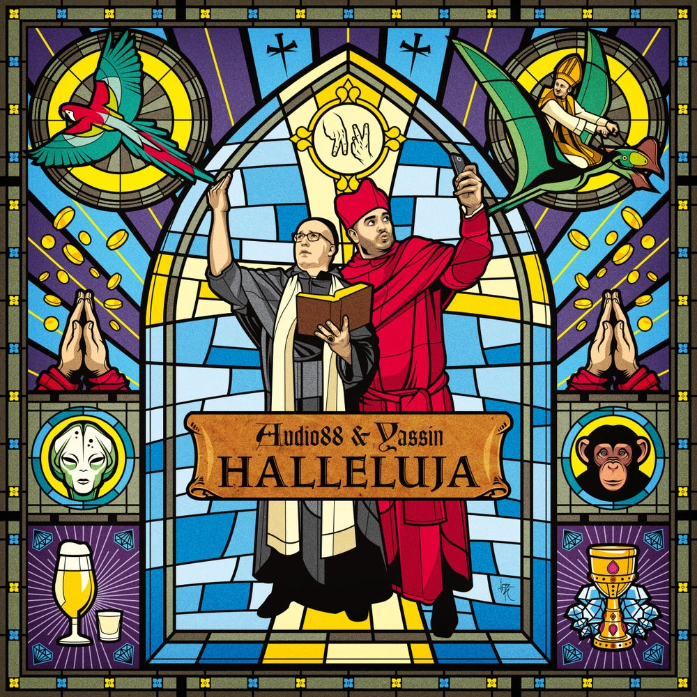 Image of Audio88 & Yassin - Halleluja - LP (NORMALE MUSIK)