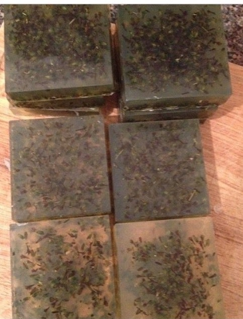 Image of Green tea lavender soap