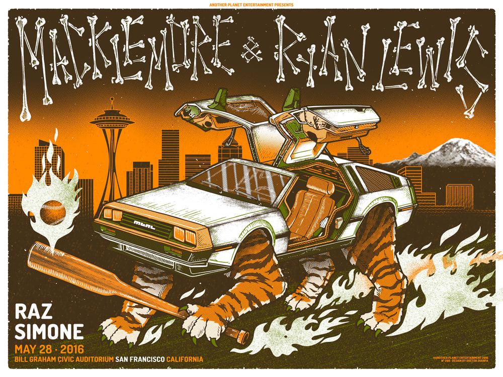 Image of Macklemore & Ryan Lewis Poster (Regular)