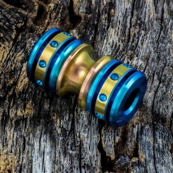 Image of Aqua & Copper Triple Bead Set #2