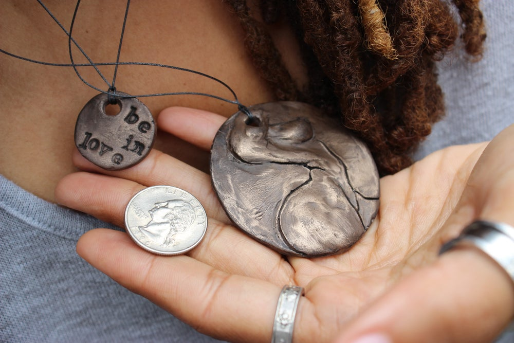 Image of Hand-made pendants