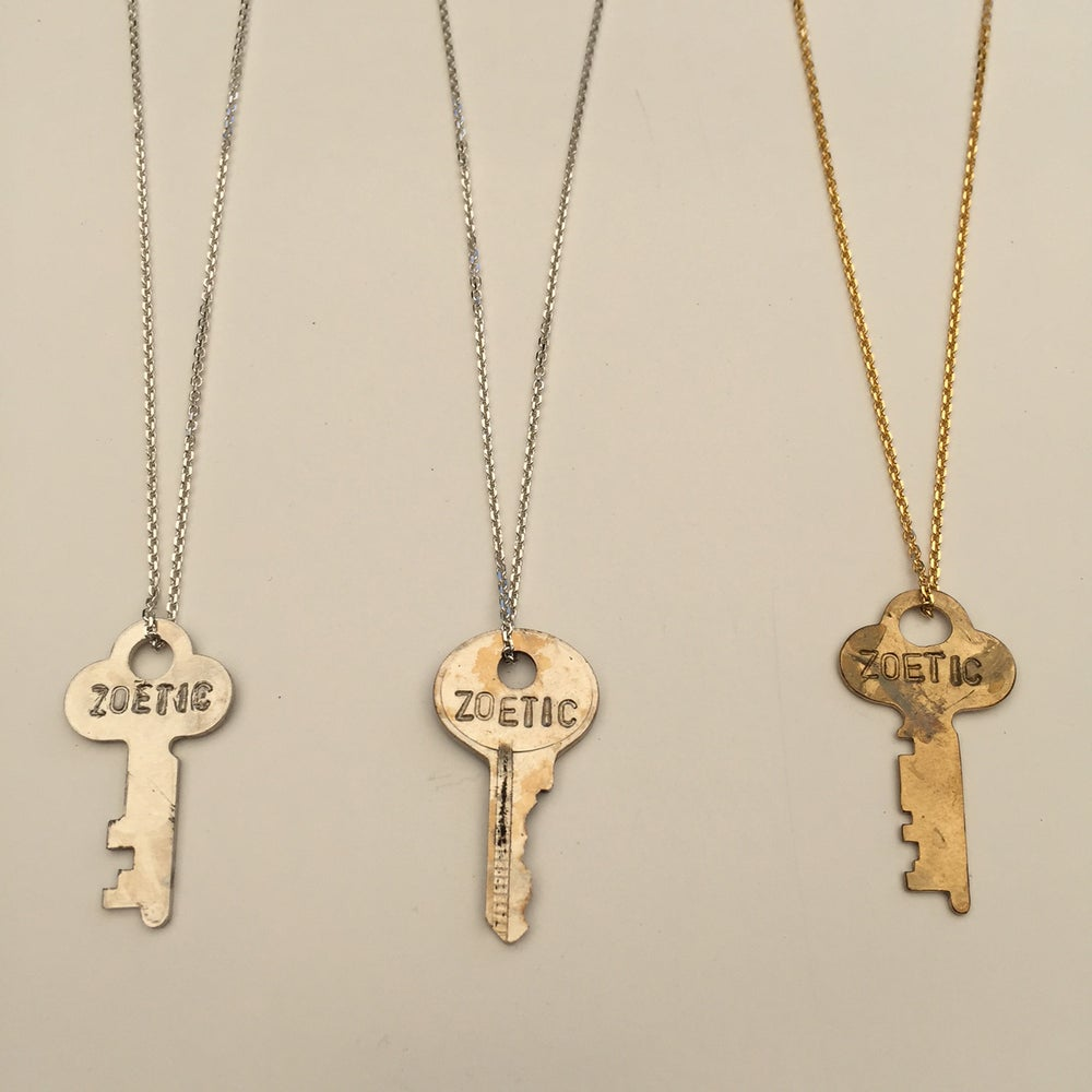 "Image of The Giving Keys - 'Zoetic' Custom Dainty 18"" Necklace"
