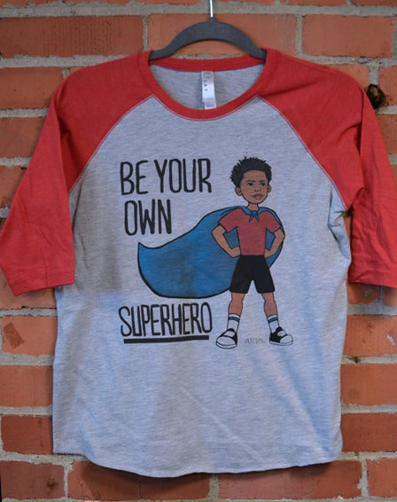 Image of Be Your Own Superhero Toddler T-SHIRT
