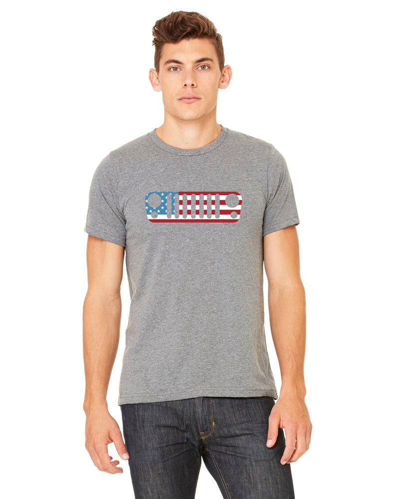 Image of Men's Trail Jeeper USA Tee