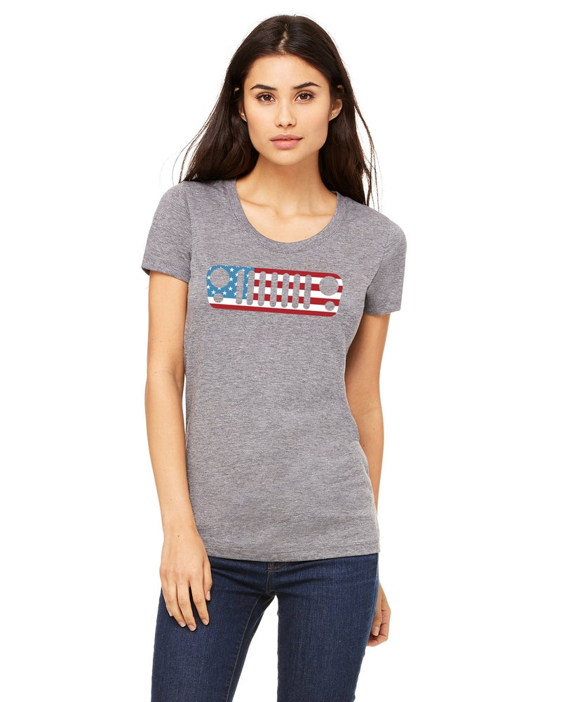 Image of Ladies Trail Jeeper USA Tee