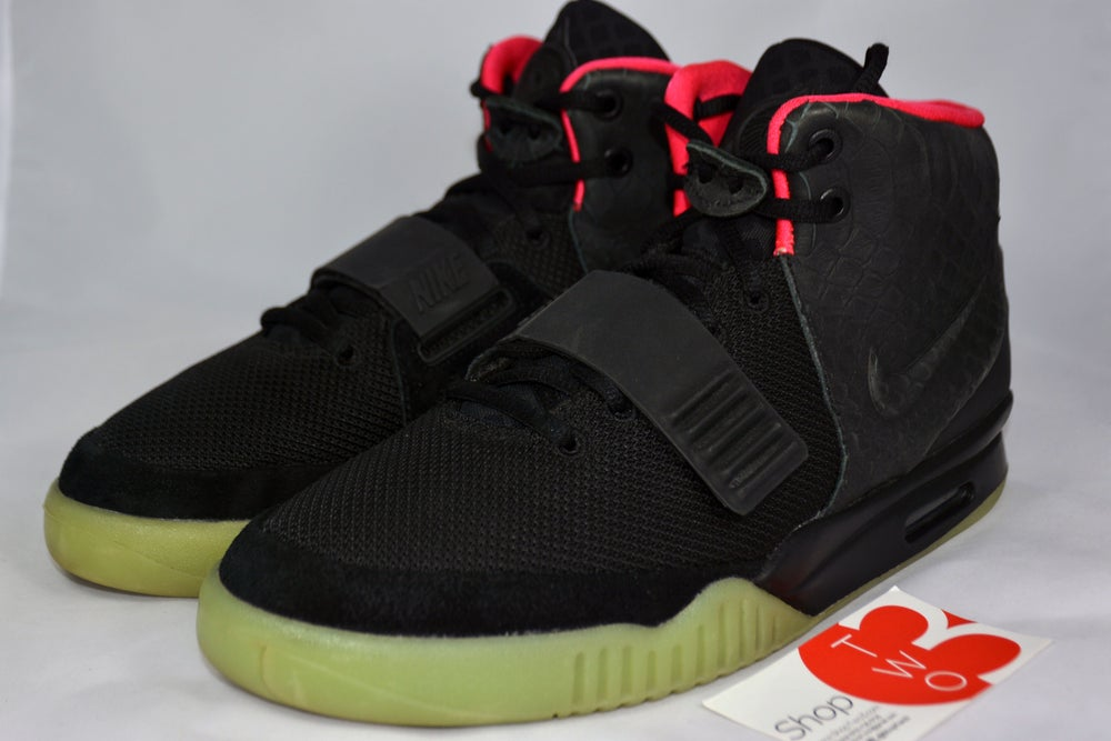 Image of Air Yeezy 2 Solar Red