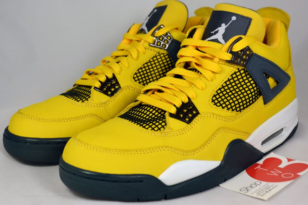 "Image of Air Jordan 4 Retro Ls ""Lighting"""