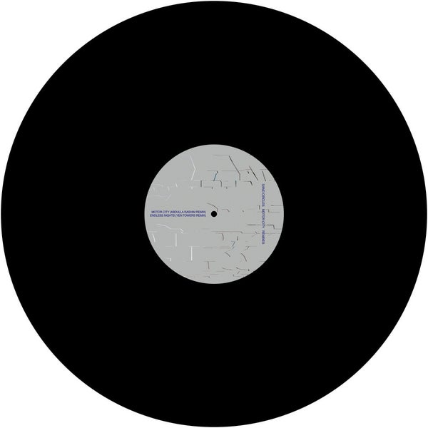 Image of [Posh Isolation 161] Sand Circles - Motor City Remixes 12""