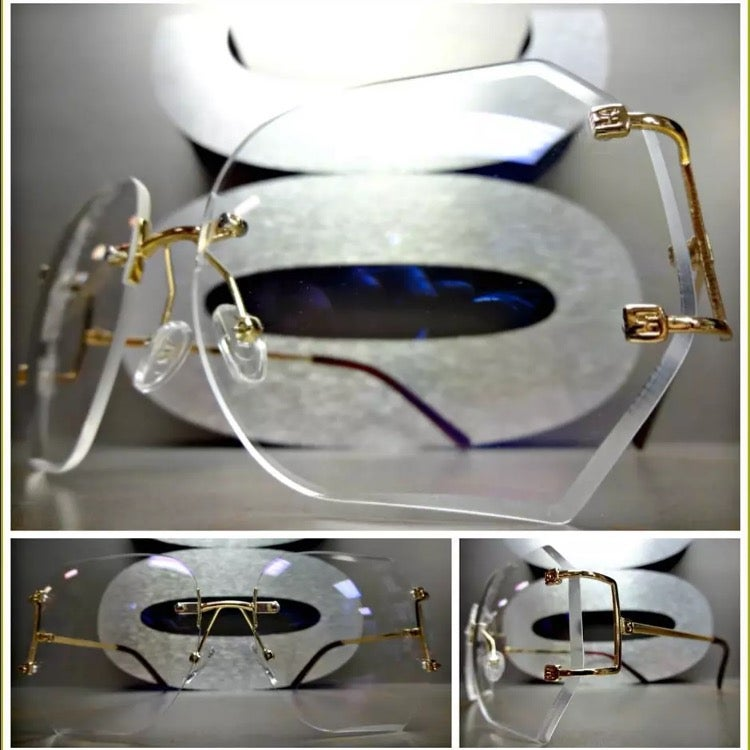 Image of Rimless Octagon Frames