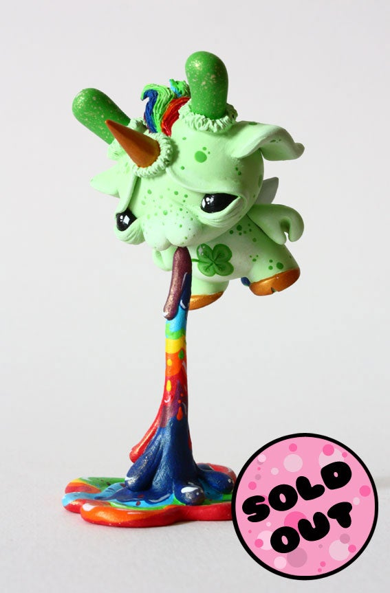"Image of Lucky - Puking Fairycorn 3"" Custom Dunny"