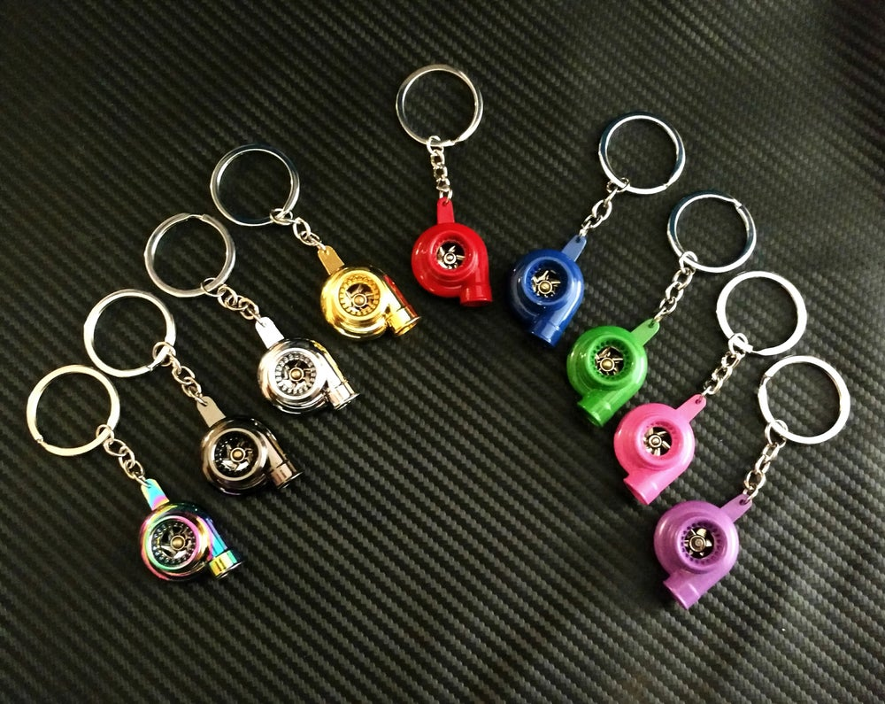 Image of TURBO SPINNING KEYCHAINS