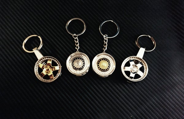 Image of WHEEL KEYCHAINS