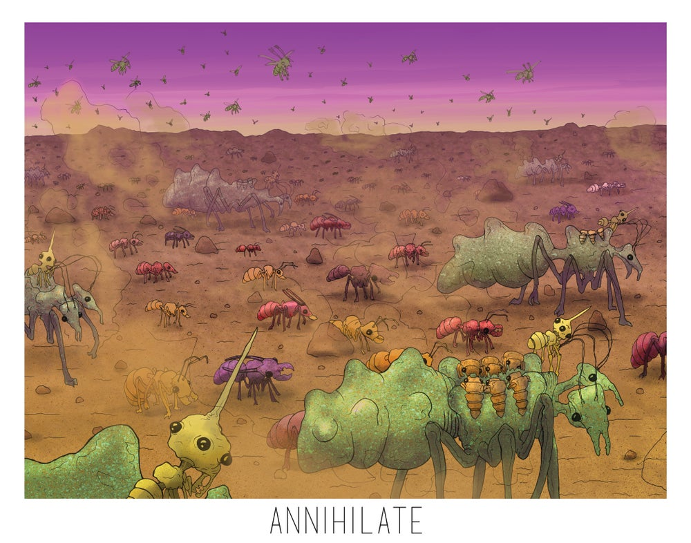 Image of Annihilate Print 3