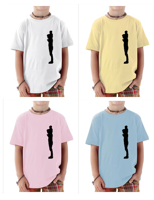 Image of DAD - on baby onesie & toddler tee