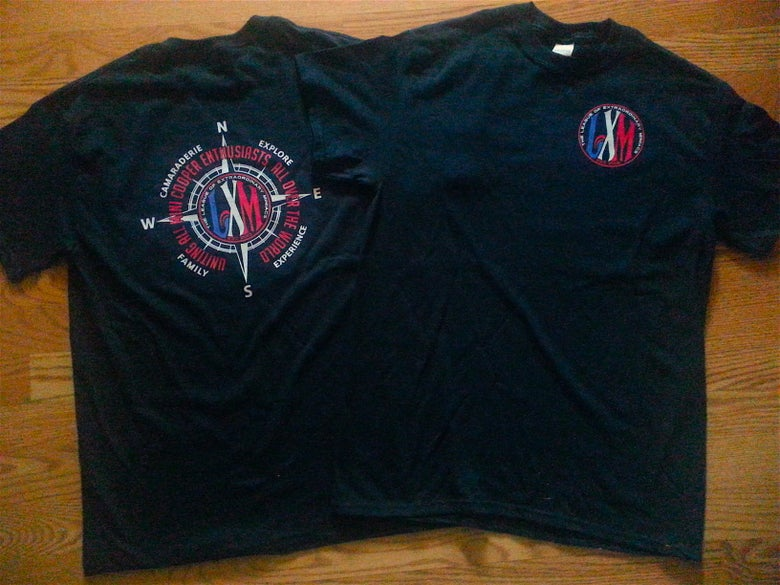Image of LXM COMPASS DESIGN ADULT CUT TEE SHIRT