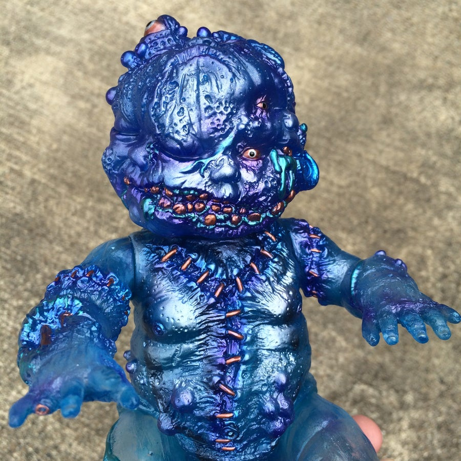 Image of 1 off custom clear AZSB/ Gergle
