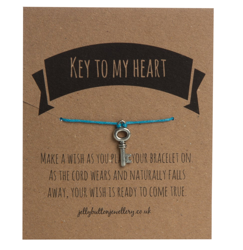 Image of Key Adjustable Charm Bracelet