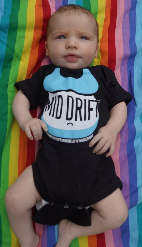 Image of Mid Drift Onesie