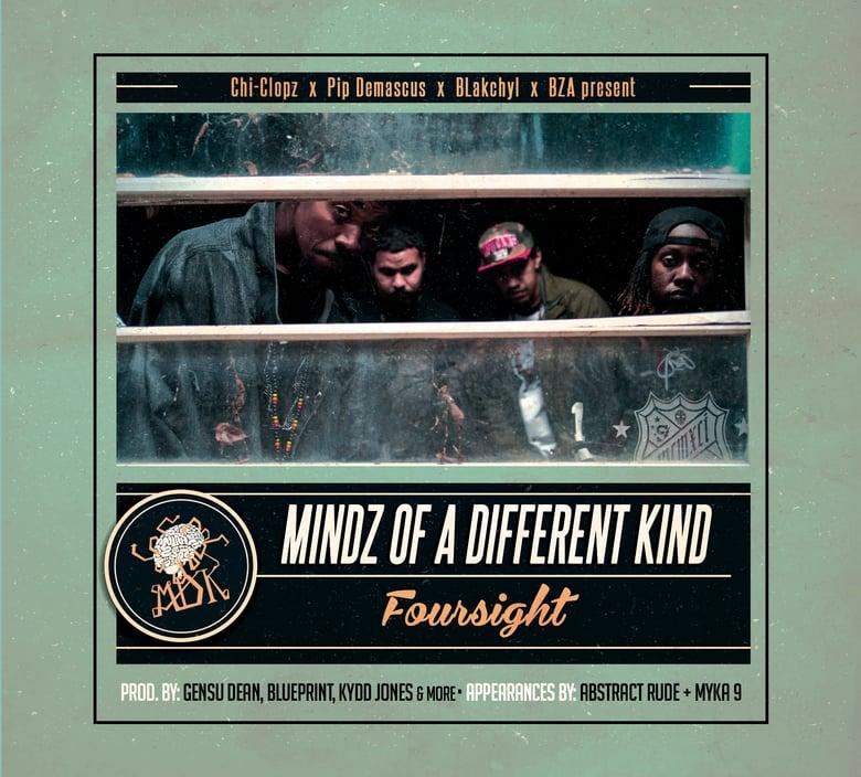 Image of Mindz of a Different Kind - Foursight - CD