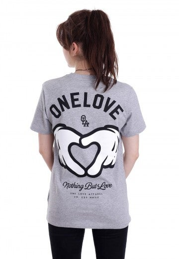Image of [S7] Nothing But Love Grey T-Shirt