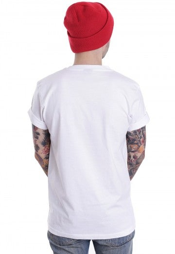 Image of [S7] Red Label White T-Shirt