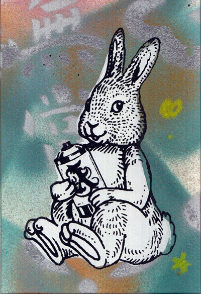 Image of bunny card 7