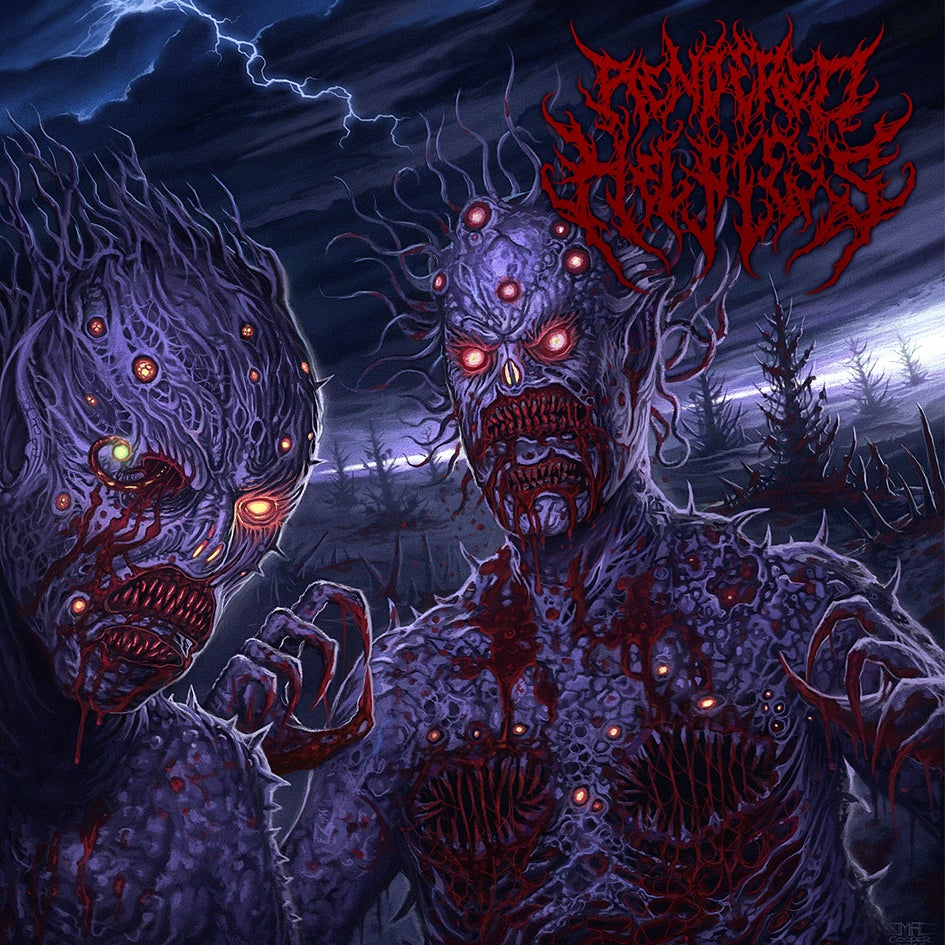 Image of Rendered Helpless - Unstoppable Parasites - Jewel Case CD