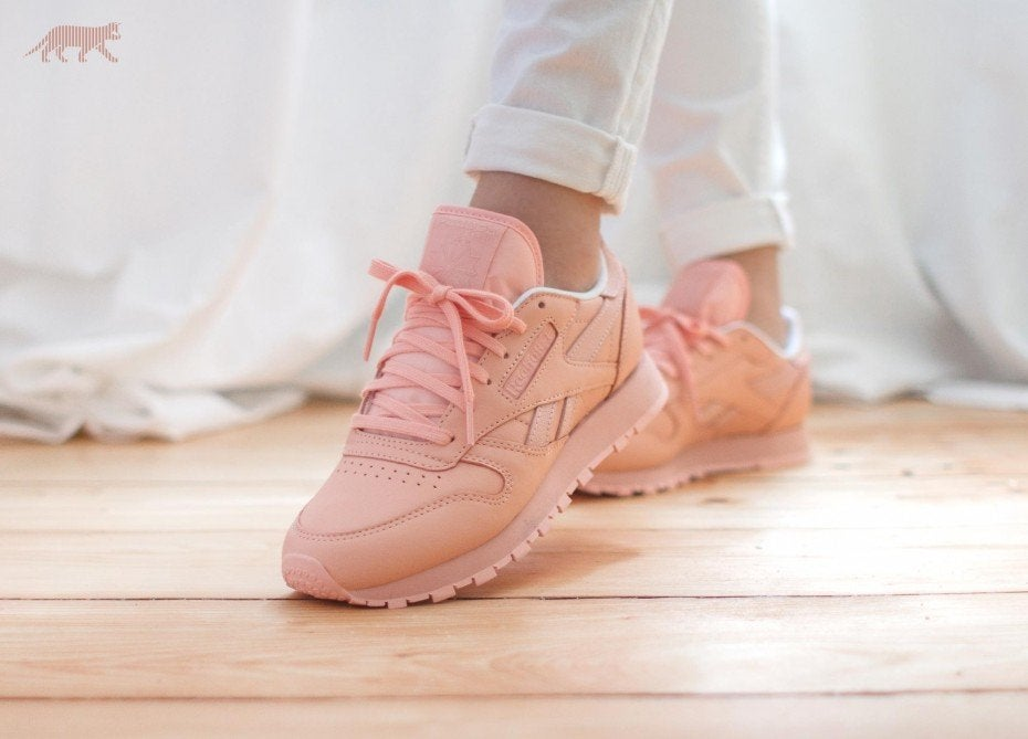 ad883517cc23 The London Sneaker Club — REEBOK CLASSIC PASTEL COLOUR - PINK (FACE ...