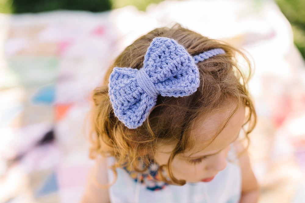 """Image of The """"Annabelle"""" bow headband"""