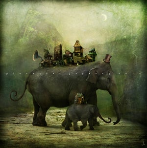 """The Village"" - Alexander Jansson Shop"