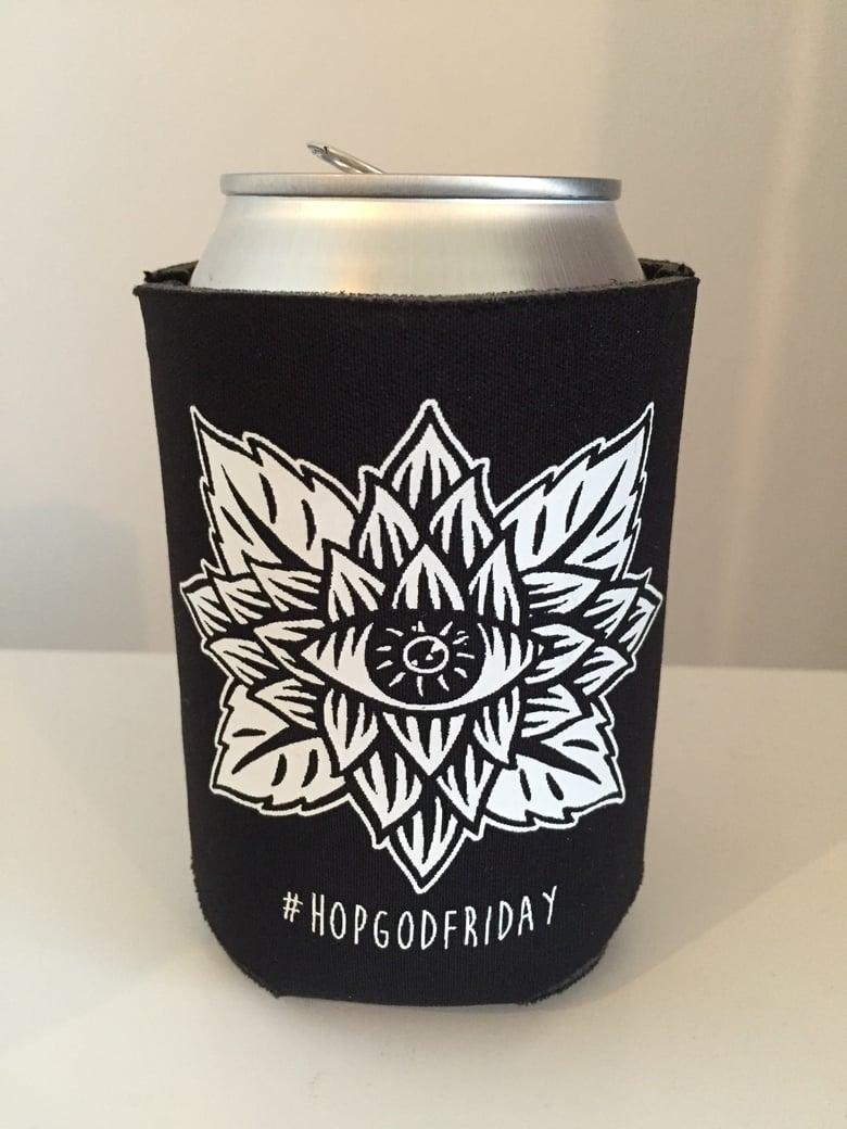 Image of #HopGodFriday Beer Koozie