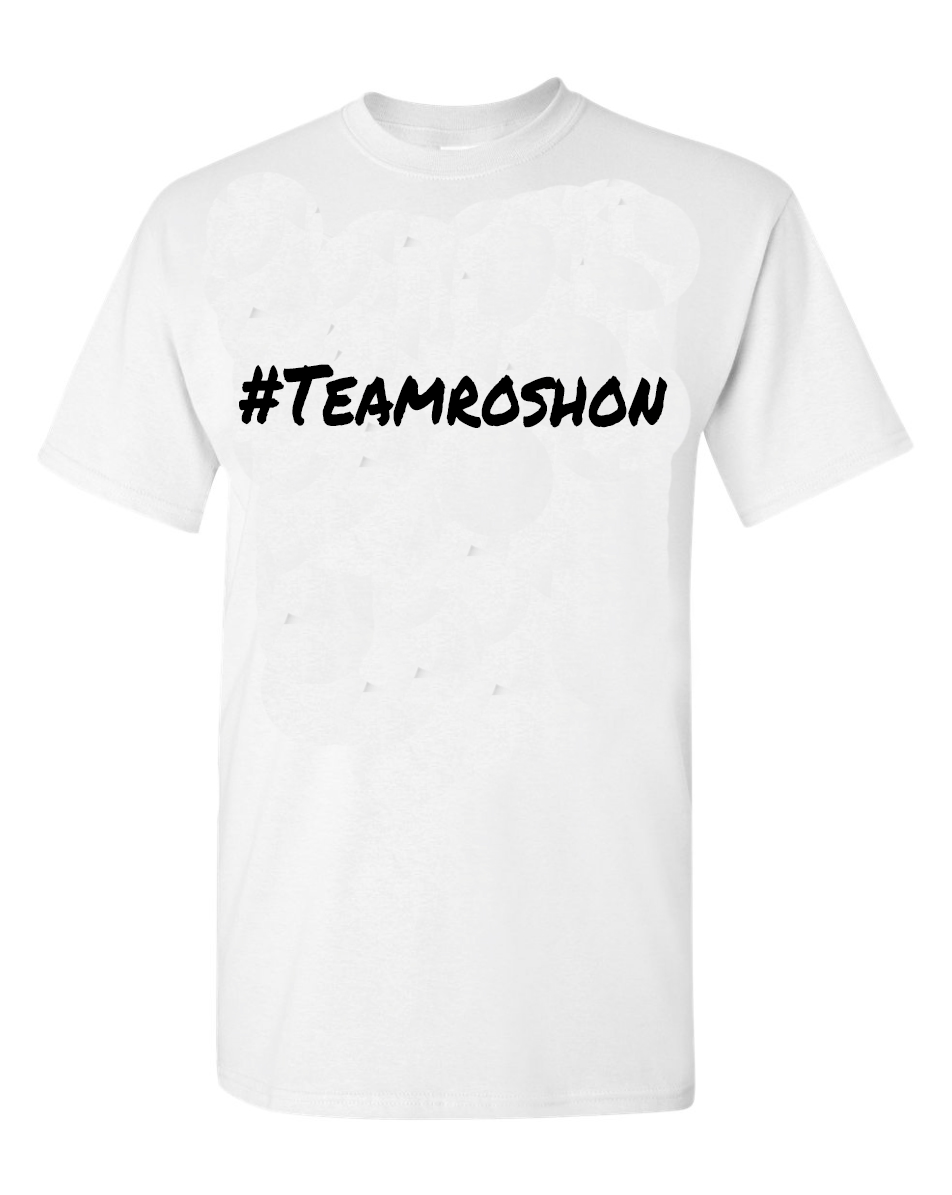 Image of Team Roshon Tee-White