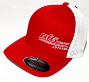 Image of Red and White FlexFit Hat