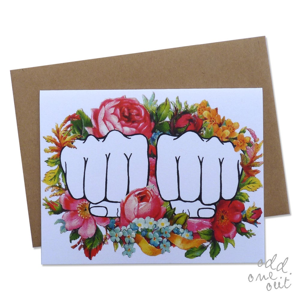 Image of Knuckle Tattoo - Customizable Card!