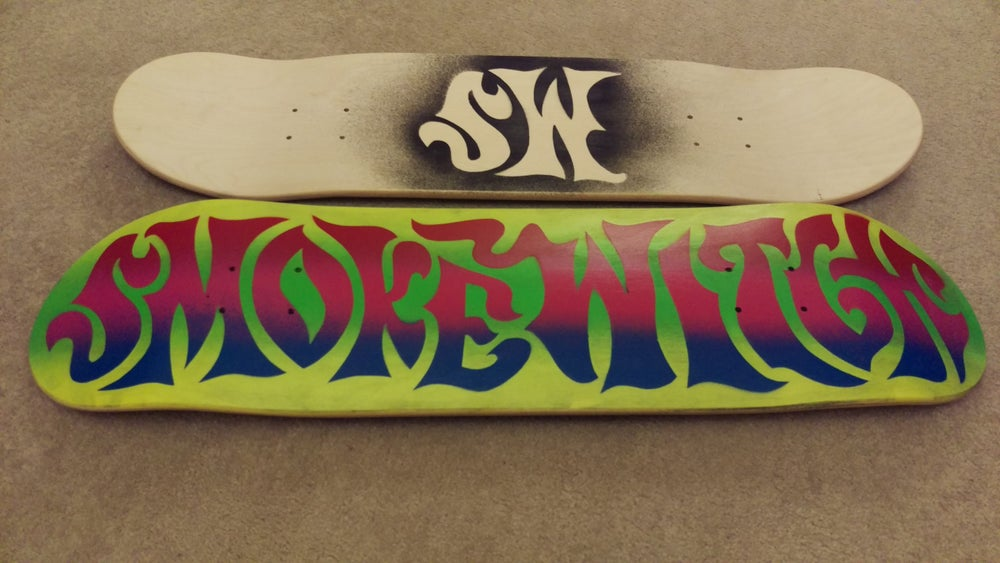 Image of SW skate team deck