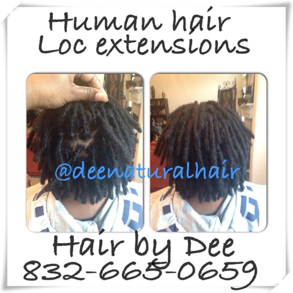 Dee Natural Hair Human Hair Loc Extensions