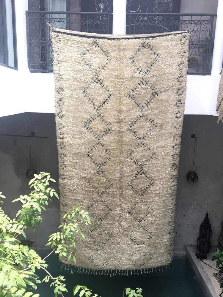 Image of R18-MAJ - Beni Ourain Rug