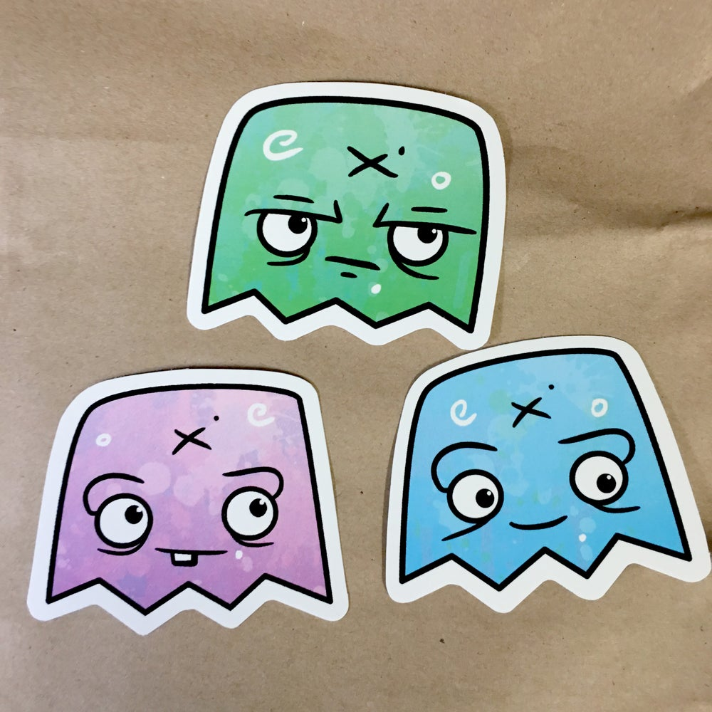 Image of Ghost Stickers - Series 1