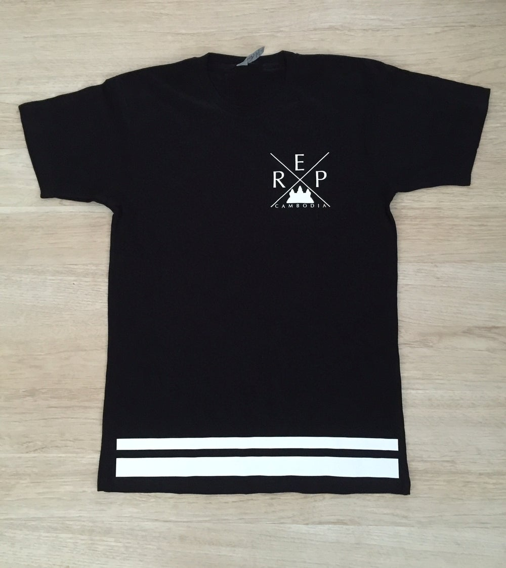 Image of X Double Striped Tee