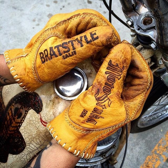 Image of BRATSTYLE×MOTOSTUKA SHANKS GLOVES
