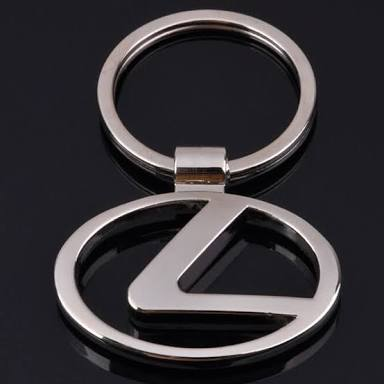 Image of Lexus Logo Key Ring