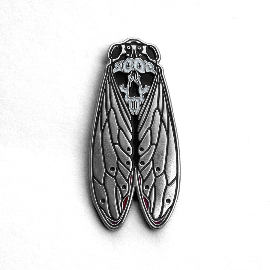 Image of Death's-Head Cicada Pin
