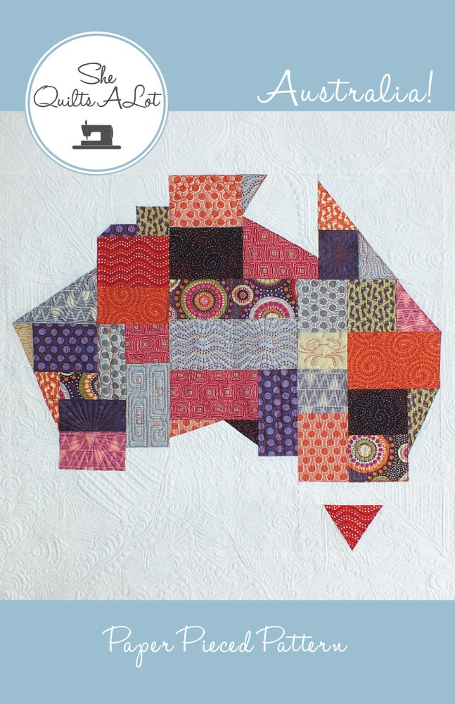 Image of Australia Quilt PDF Pattern